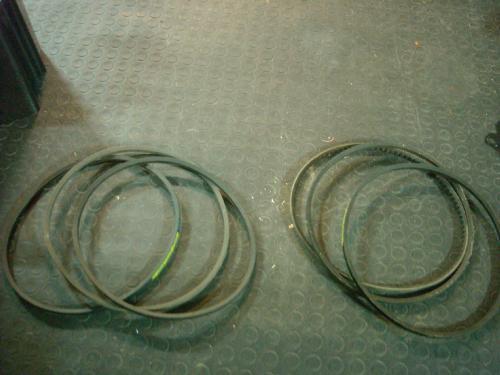 Cinghie per Ventola raffreddamento motore Kubota.