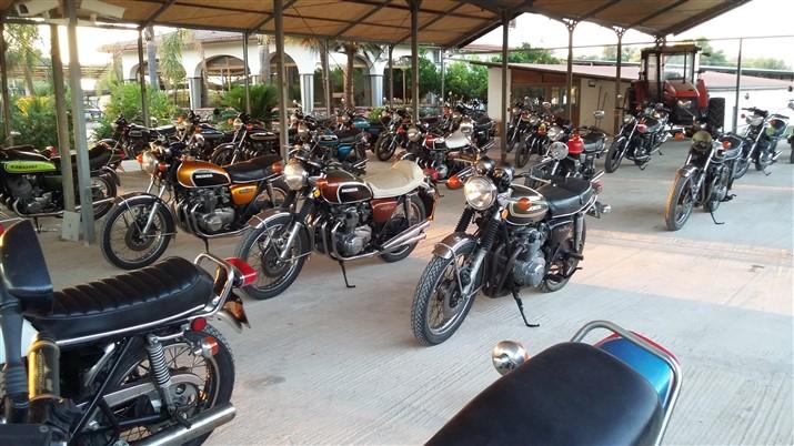 Moto Honda CB 350 400 500 Four motociclo storico