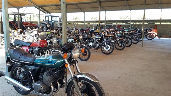 Moto motociclo Kawasaki 500 mach III ASI Storiche d'epoca molto belle