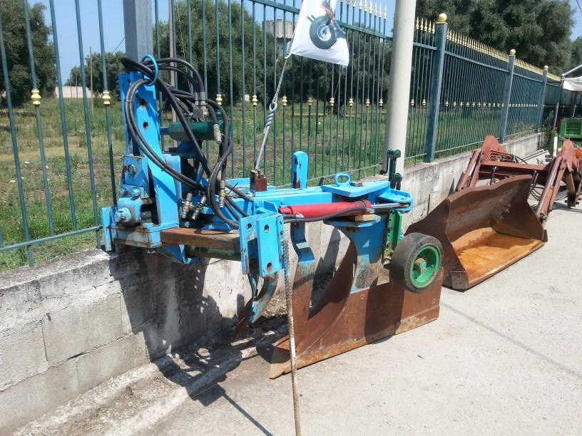Aratro Monovomere Dondi D557S spostamento idraulico