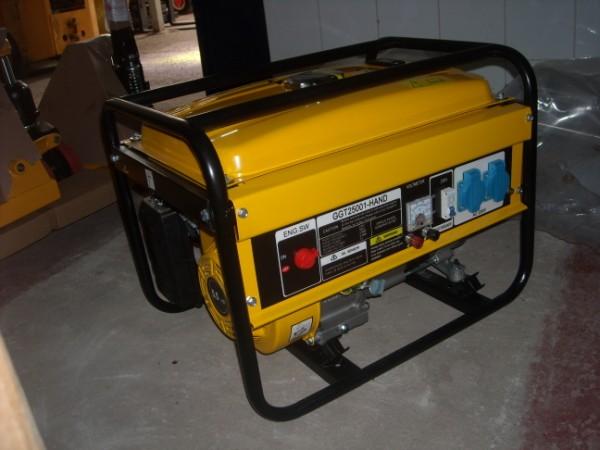 Generatore Corrente GT 2500 Benzina 2,5 Kw