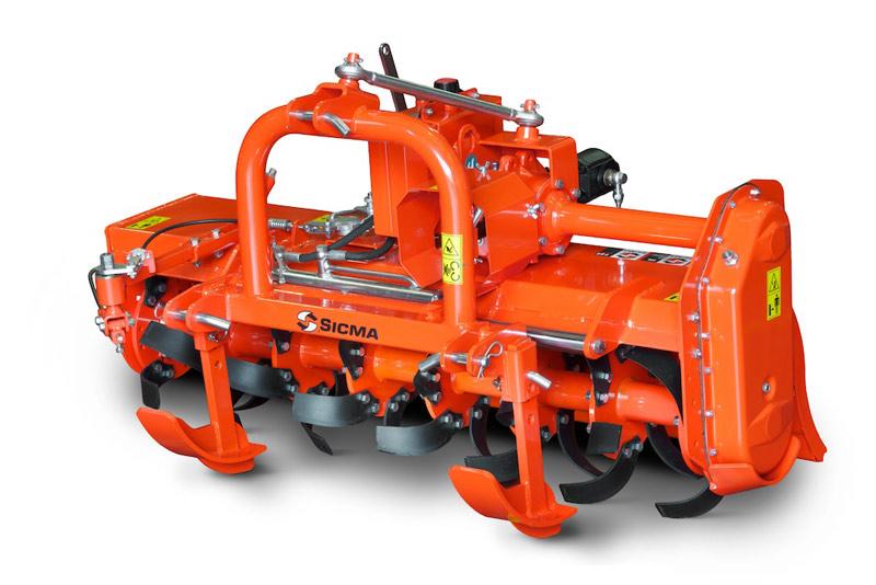 Fresa Sicma HL Idraulica automatica leggera. Da 15 a 45 HP, a 1 velocità, PTO 540 rpm