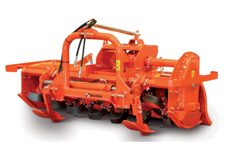 Fresa Sicma RMF Spostabile pesante. Da 40 a 70 HP - a 4 velocità - PTO 540 rpm