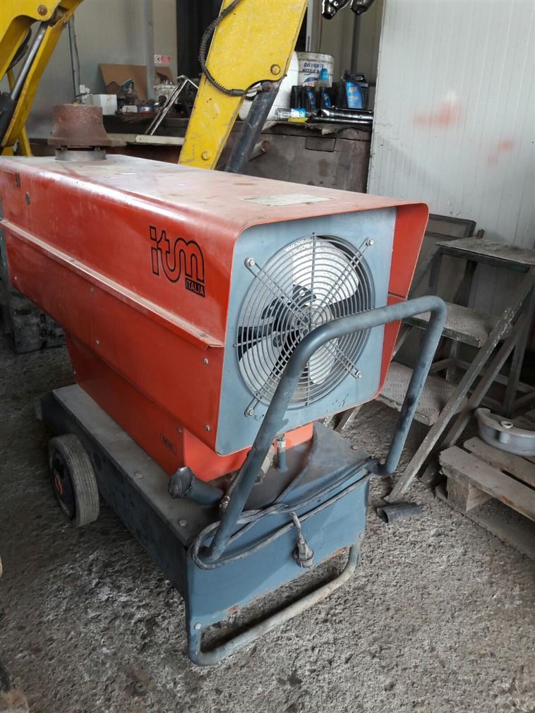 Generatore D'aria Calda usato ITM Zenith 50 a gasolio