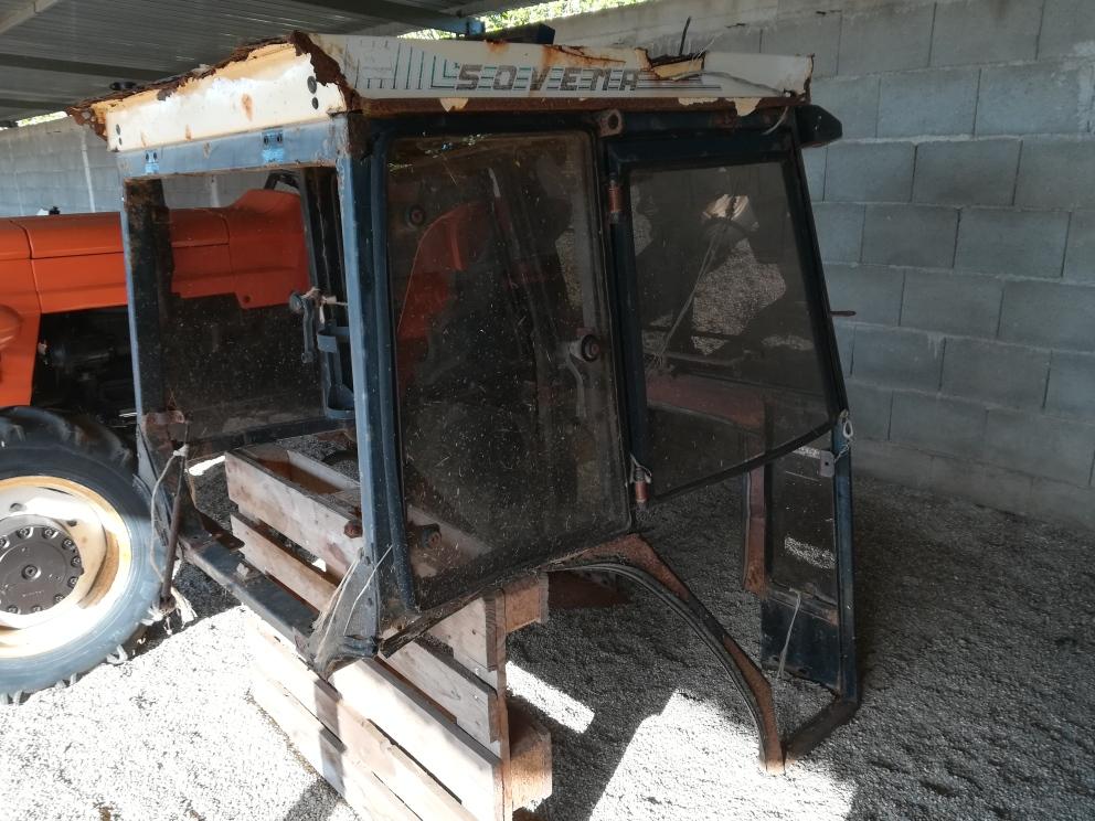 Cabina per trattore usata Fiat Agrifull