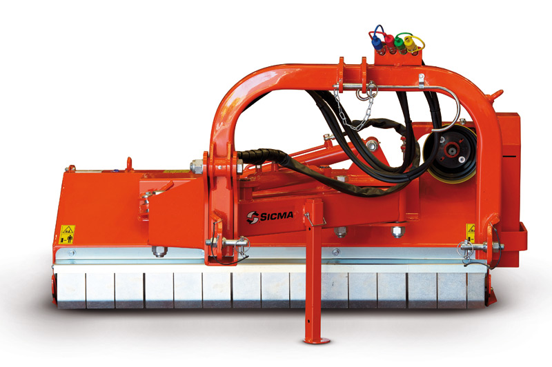 Trincia Sicma MA-ML-MP per argini, a spostamento laterale, leggero, medio, pesante